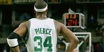 Pierce Likes What He Sees