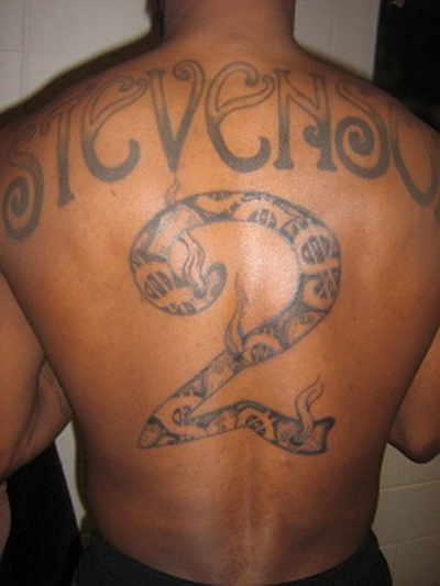 Players with Back Tattoos: An Epidemic?