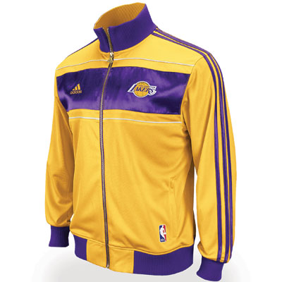 Freshly Dipped: LA Lakers Championship Banner Jacket
