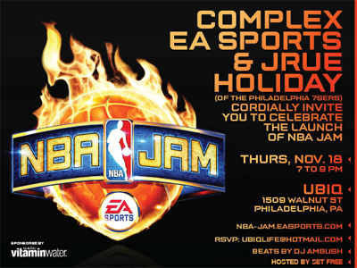 Freeway & Peedi Crakk At NBA Jam x UBIQ x Complex Launch