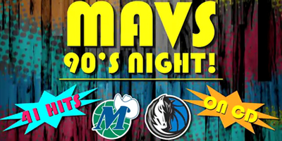 Mavs Retro 90's Karaoke Night