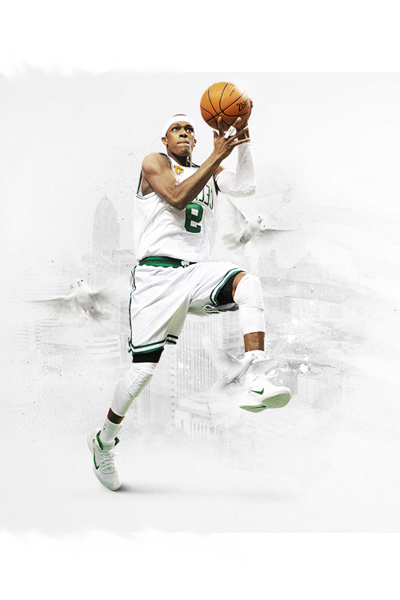 All White Rajon Rondo Art