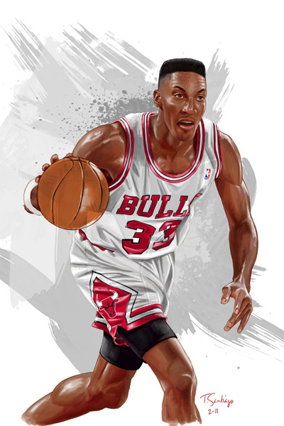Scottie Pippen Illustrated