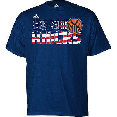 Freshly Dipped: New York Knicks 'Stars and Stripes' 9/11 Tee