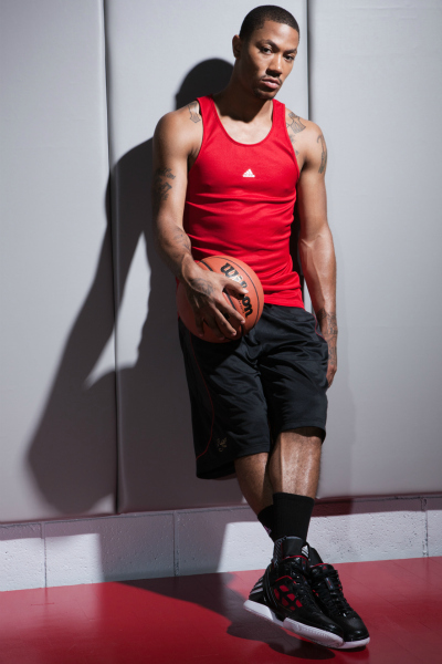 derrick rose adidas photoshoot