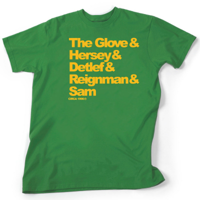 Freshly Dipped: UNDRCRWN Seattle SuperSonics 'House Of Rain' Dynasty Tee