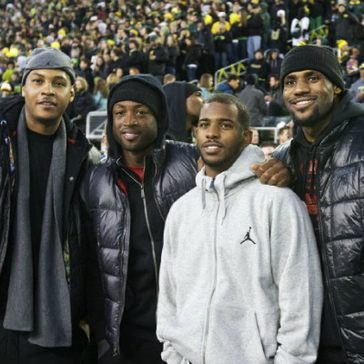 LeBron, CP3, D.Wade + Melo Announce Homecoming Tour