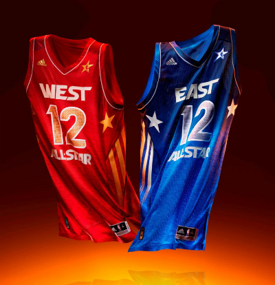 Freshly Dipped: adidas 2012 NBA All-Star Jerseys