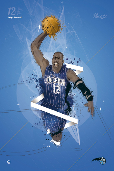 Dwight Howard Tribute Art