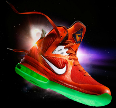 Freshly Dipped: Nike LeBron 9 'Galaxy'