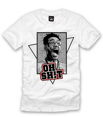 Freshly Dipped: The Freshnes 'Oh Sh!t' Tee