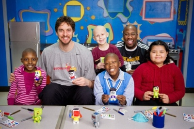 Pau Gasol At St. Jude Children`s Hospital