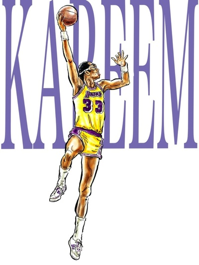 Kareem Abdul-Jabbar Illustrated