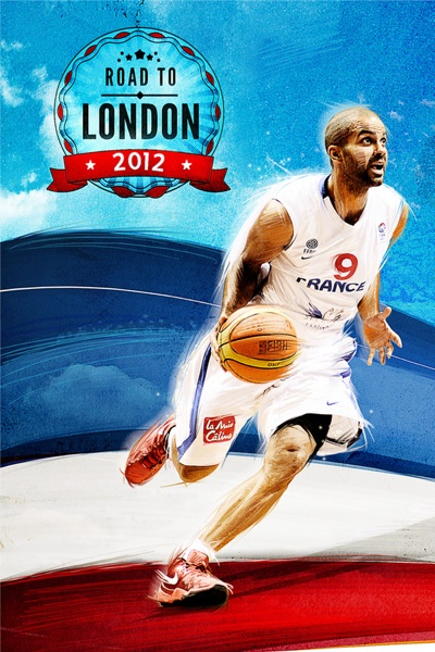 Tony Parker 'Road To London' Art