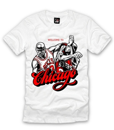 Freshly Dipped: Welcome To Chicago Tee