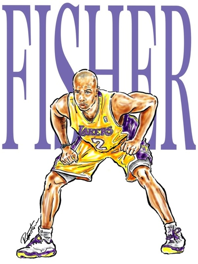 Derek Fisher Illustrated