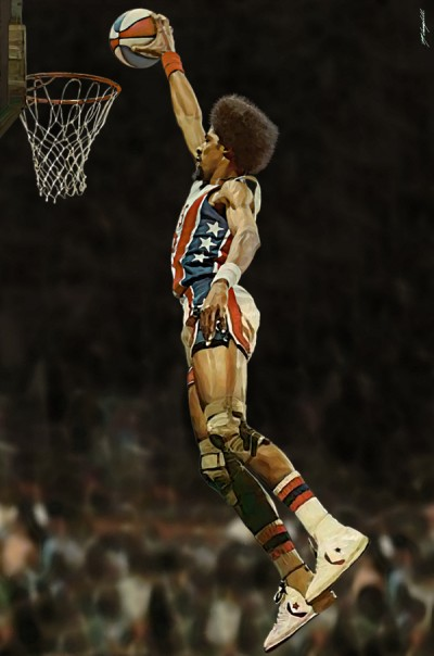 Julius Erving Digital Painting
