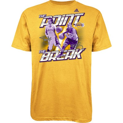 Freshly Dipped: adidas LA Lakers 'The Point and The Break' Tee