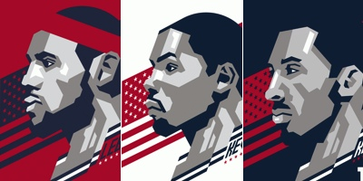 Nike USA Basketball Signature Series Art