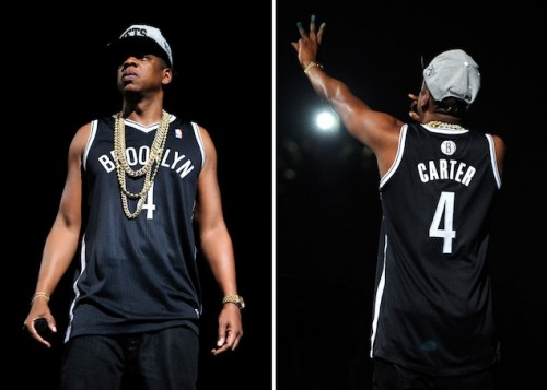 Freshly Dipped: Limited Edition Brooklyn Nets 'Jay-Z' Jerseys