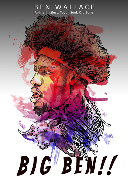 Ben Wallace 'Old Bone' Art