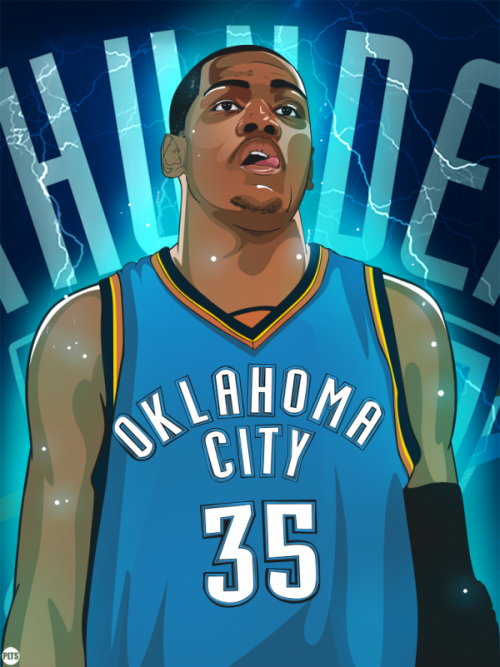 Dark Wing Illustration, Brothers: Kevin Durant and Russell ...