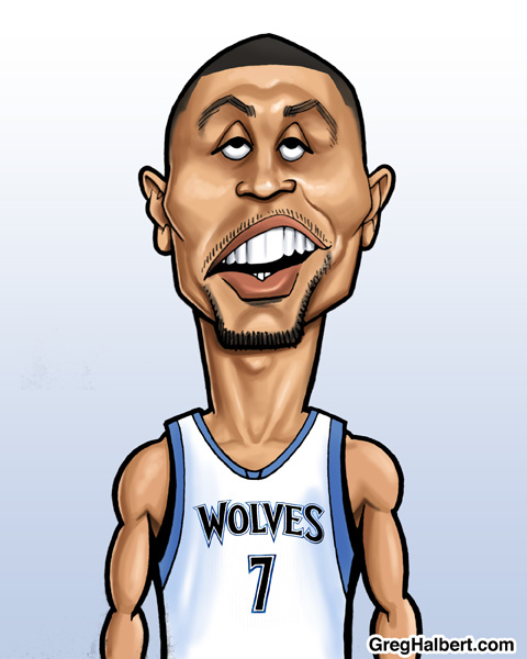 Brandon Roy Caricature Art