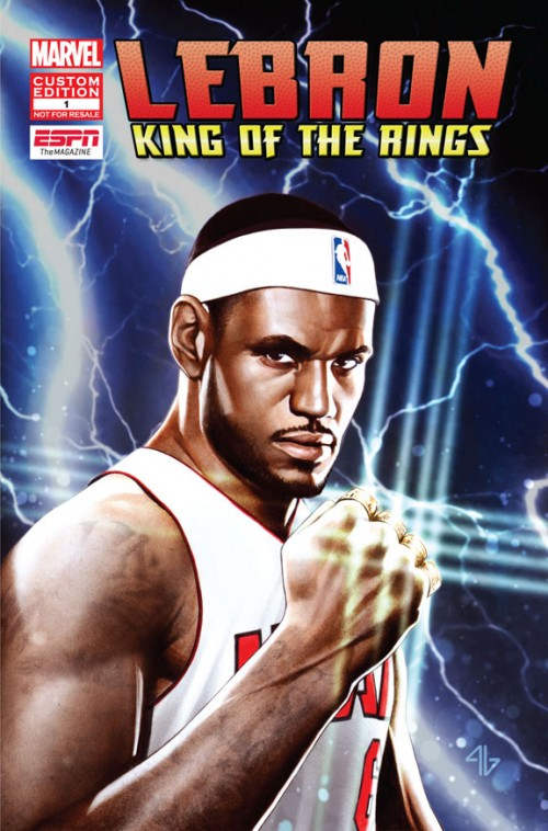 LeBron James x Marvel Comics