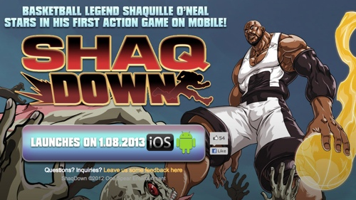 Shaq Has A New Mobile Video Game, Seriously