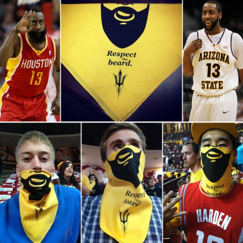ASU Hosts James Harden Beard Night