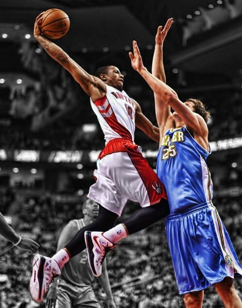 DeMar DeRozan Dunks All Over Timofey Mozgov (VIDEO)