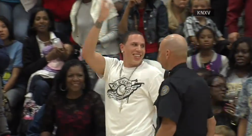 Mike Bibby Gets Tossed From Sons High School Game (VIDEO)