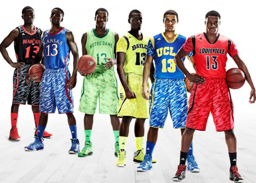 adidas March Madness Uniforms For Six NCAA Teams