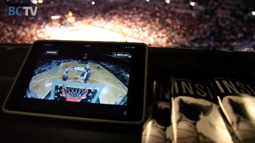 Barclays Center and Brooklyn Nets App Premiere
