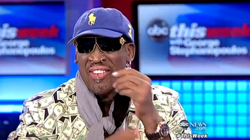 Dennis Rodman Discusses His North Korea Trip