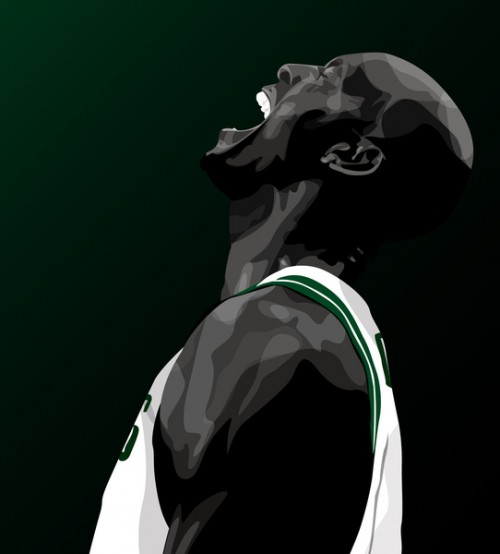 Kevin Garnett 'Anything Is Possible' Art