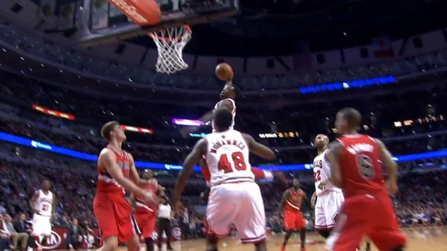 Nate Robinson Had A Huge Frustration Dunk