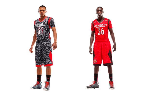 adiZero Short Sleeve McDonald's All American Uniform System