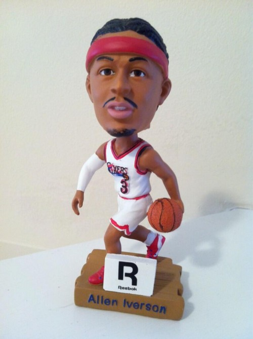 76ers Honor Allen Iverson With Bobblehead