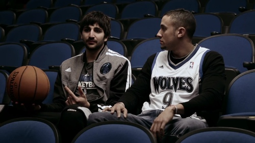 Ricky Rubio Tells A Fan His Secret