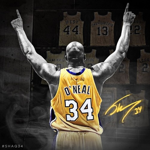 Lakers Retire Shaq's No.34 Jersey