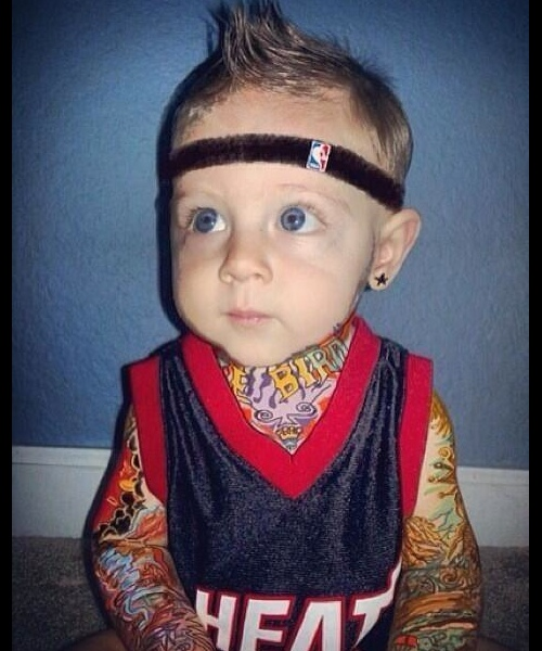 Toughest pre-schooler ever