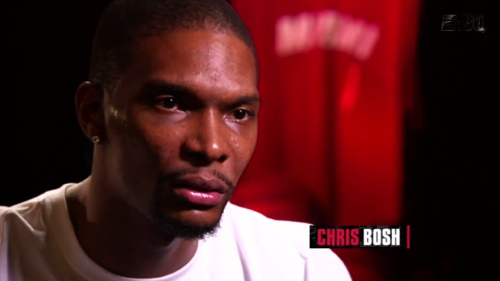 Chris Bosh, cool geek and kinda nerdy