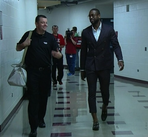 Dwyane Wade shorty suit
