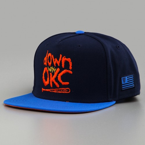 Freshly Dipped: K1X 'Down with OKC' Snapback Cap