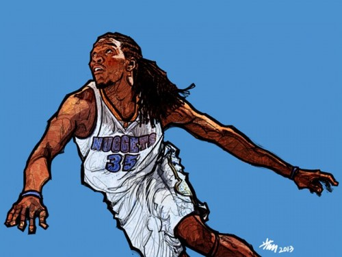 Kenneth Faried 'Manimal' Art