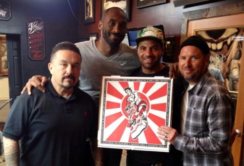 Kobe Bryant Is Eating Pizza Again