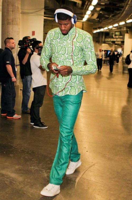 Paul George all green everything