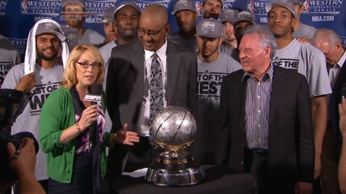The Spurs Win the Western Conference Championship