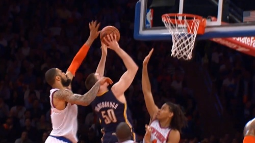Tyson Chandler Blocks Psycho-T